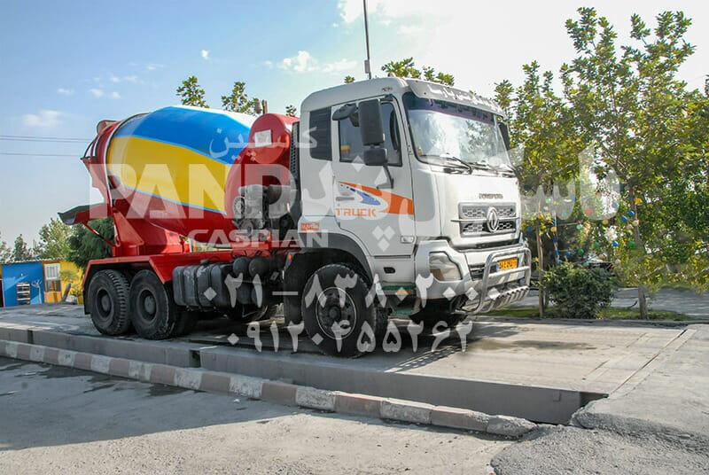 باسکول کامیون کش