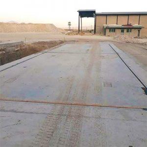 نصب مکانیک باسکول جاده ای ۱۰۰ تنی دامپ تراک در استان آذربایجان شرقی شهرستان مرند