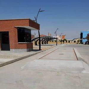 نصب الکترونیک باسکول ۶۰ تن در استان قزوین شهرستان تاکستان